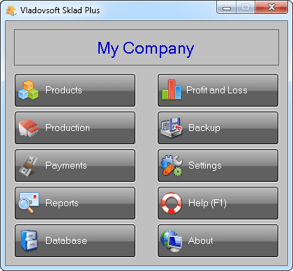 Screenshot Vladovsoft Sklad Plus 9.0.0 Full Version