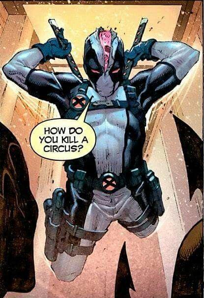 Deadpool, traje gris en X-Force