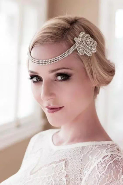 flapper hairstyles with headband
