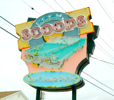 Cool Scoops Ice Cream Parlor in Wildwood, New Jersey