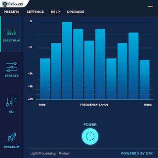 احدث مضخم صوت للكمبيوتر FxSound 2020 للابتوب برابط مباشر