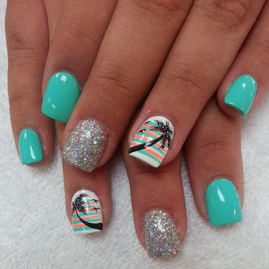 Nail Design For The Summer