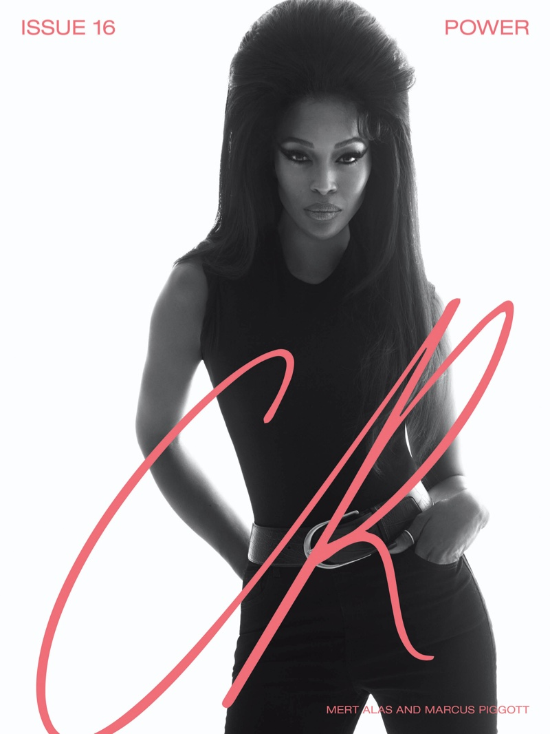 Naomi Campbell on CR Fashion Book#16 Cover