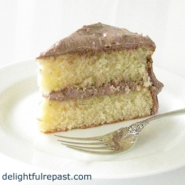 Homemade Cake Mix - Vanilla Butter Cake / www.delightfulrepast.com