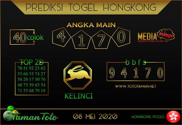 Prediksi Togel HONGKONG TAMAN TOTO 08 MEI 2020