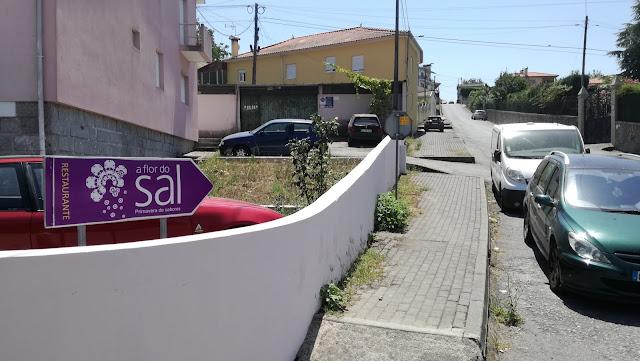 Placa restaurante Flor do Sal