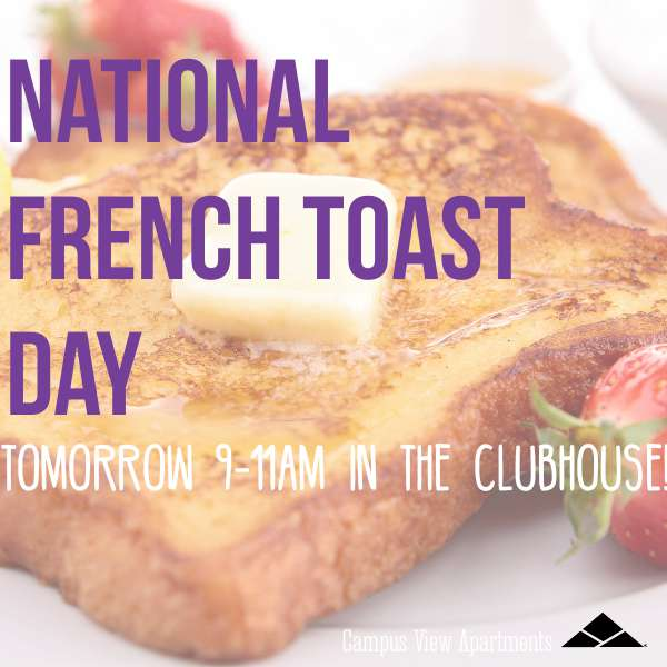 National French Toast Day Wishes Sweet Images