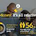 Money: it's all relative #infographic