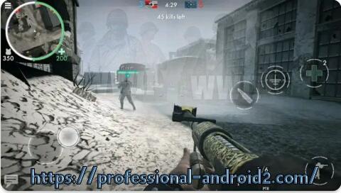 لعبةأبطال الحرب العالمية الثانية  World war heroes:ww2 shooter آخر إصدار للأندرويد.