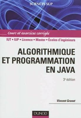 Télécharger Livre Gratuit Cours et exercices corrigés Algorithmique et programmation en Java pdf