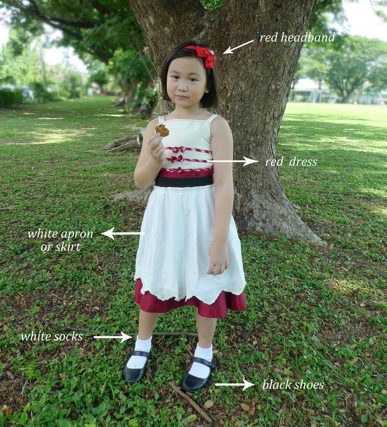 School Girl Costume Shoes