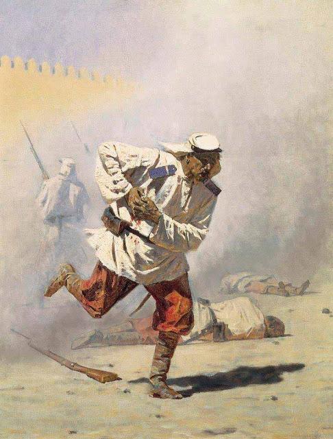 Василий Васильевич Верещагин - Смертельно раненный. 1873