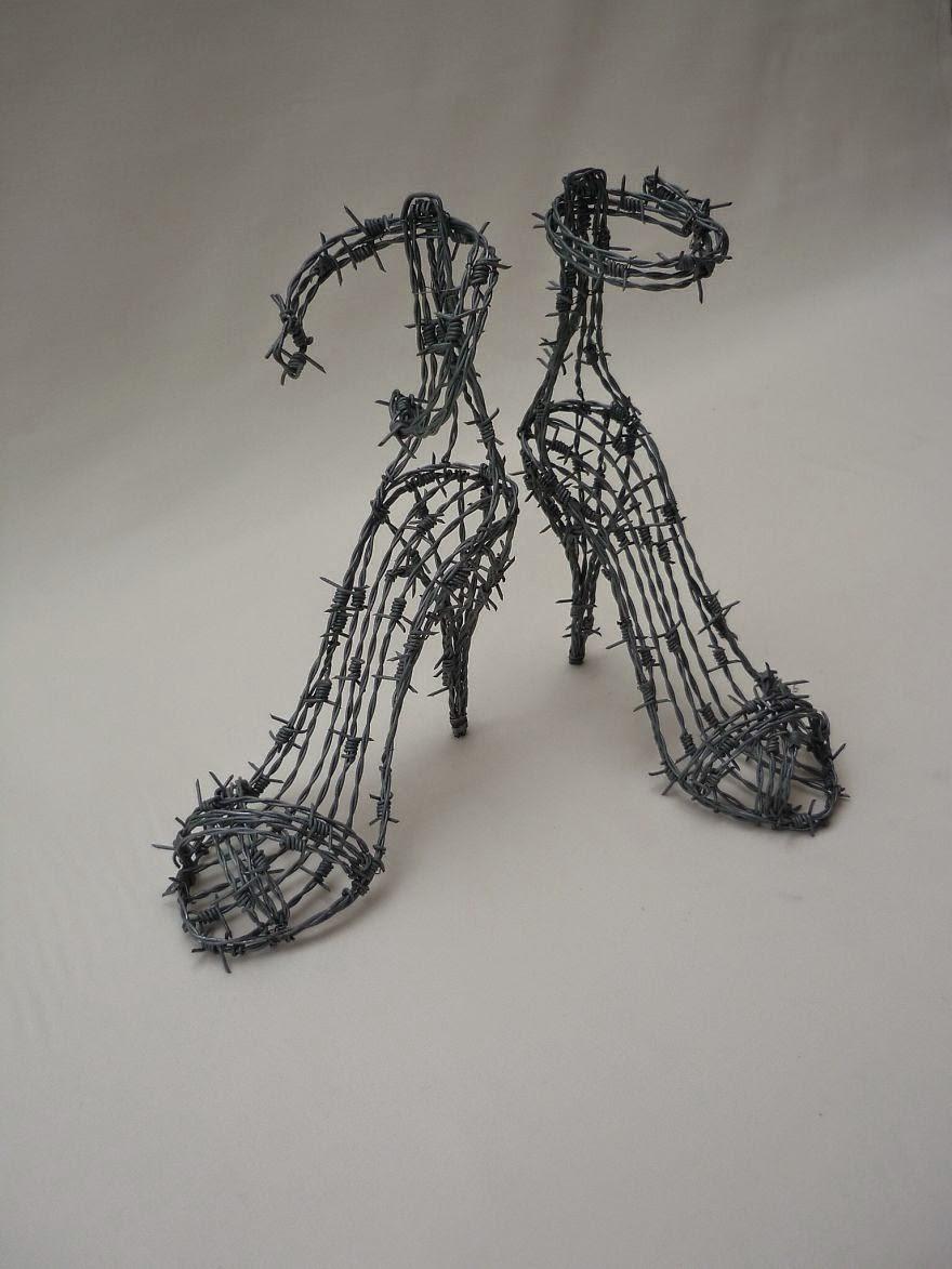 Skulpture od žice, od nakita do velikih sruktura koje se koriste kao ukrasi a izgledaju prelijepo.