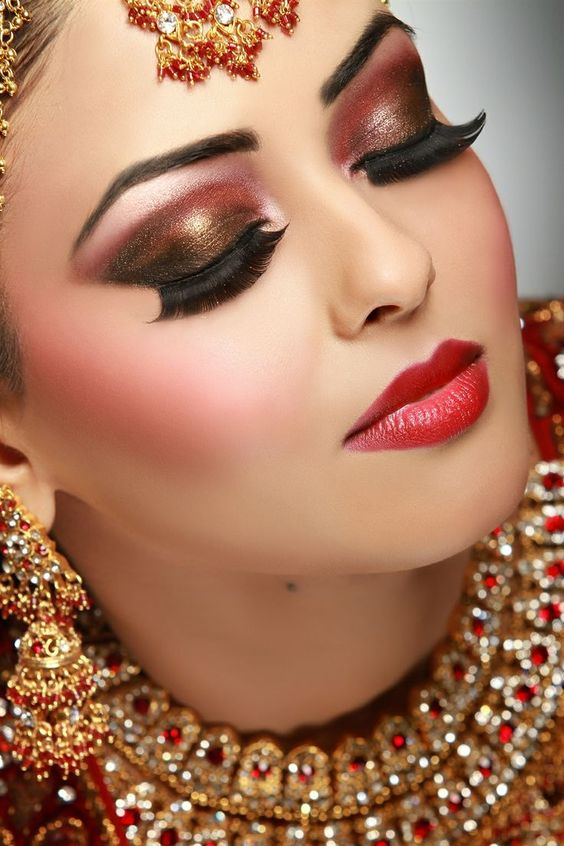 30 Latest Bridal Eye Makeup Looks Indian Bridal Makeup Series
