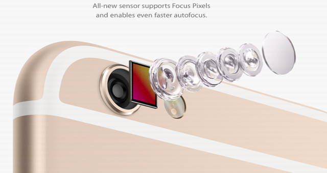 "Analyst ""confirms"" 12MP camera with smaller pixels for the next iPhone which could be iPhone 6s or iPhone 6s Plus"