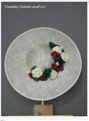 pamela con flores