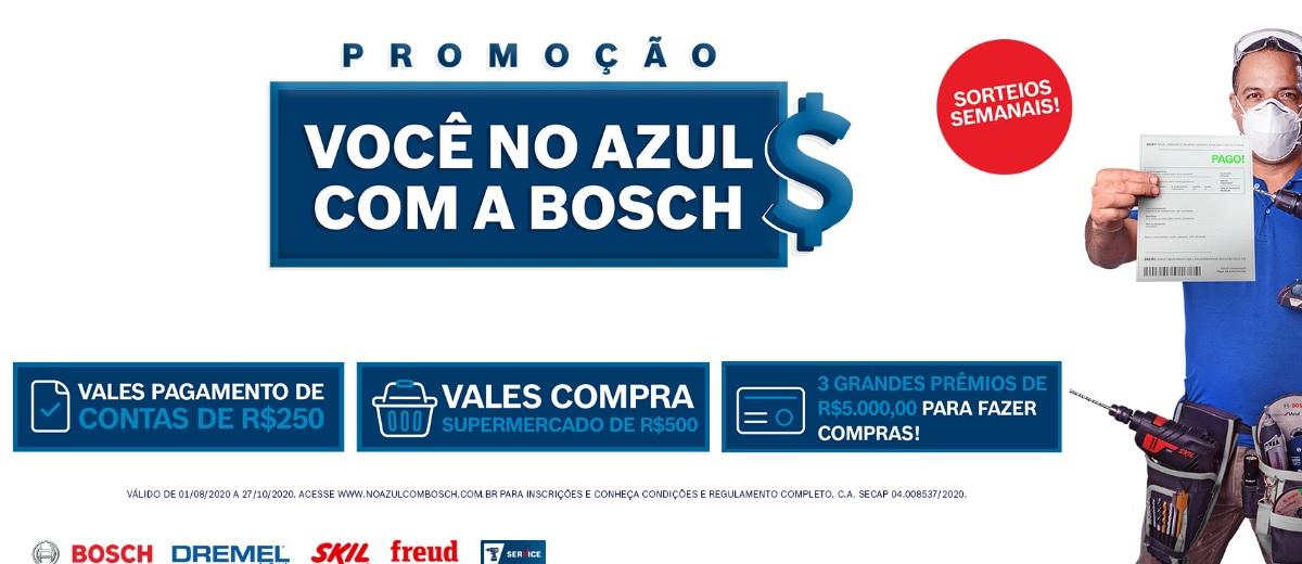 Promoção Bosch 2020 Você no Azul - Cadastrar