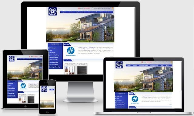 Template blogspot dịch vụ công ty