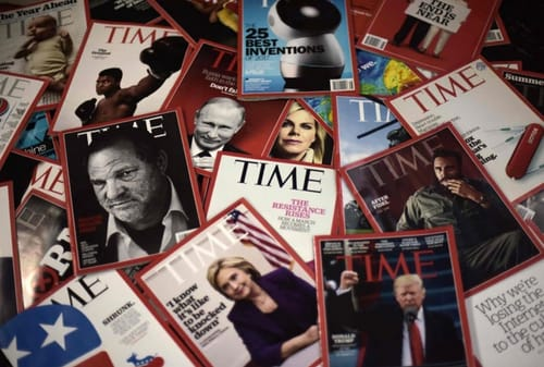 Time magazine sells 3 covers in NFT format