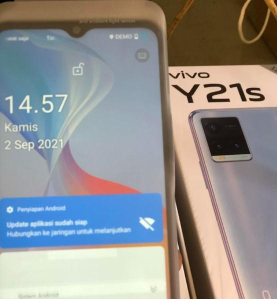 Cara Hapus Demo Live Vivo Y21s V2110 via Remote Online