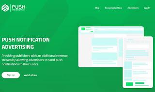 PushMonetization, gana dinero en tu web con notificaciones Push