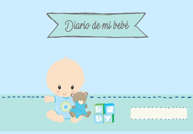 Diario, bebe, imprimible, A4, descargar