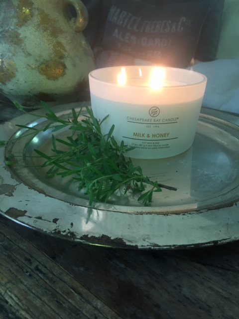 Chesapeake Bay Candle's Milk and Honey by Hello Lovely Studio