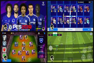 PES 19 Mobile V3.3.1 Mod CHELSEA FC
