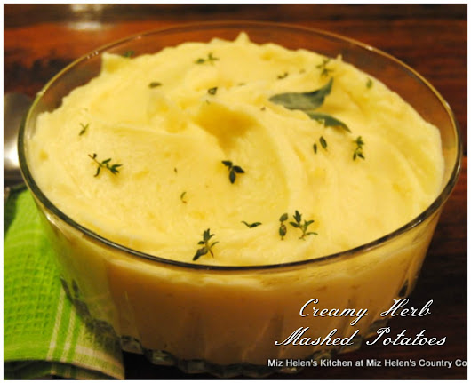 Creamy Herb Mashed Potatoes
