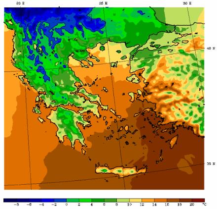Ο καιρός στη Θεσσαλονίκη αύριο (12/01/2021)