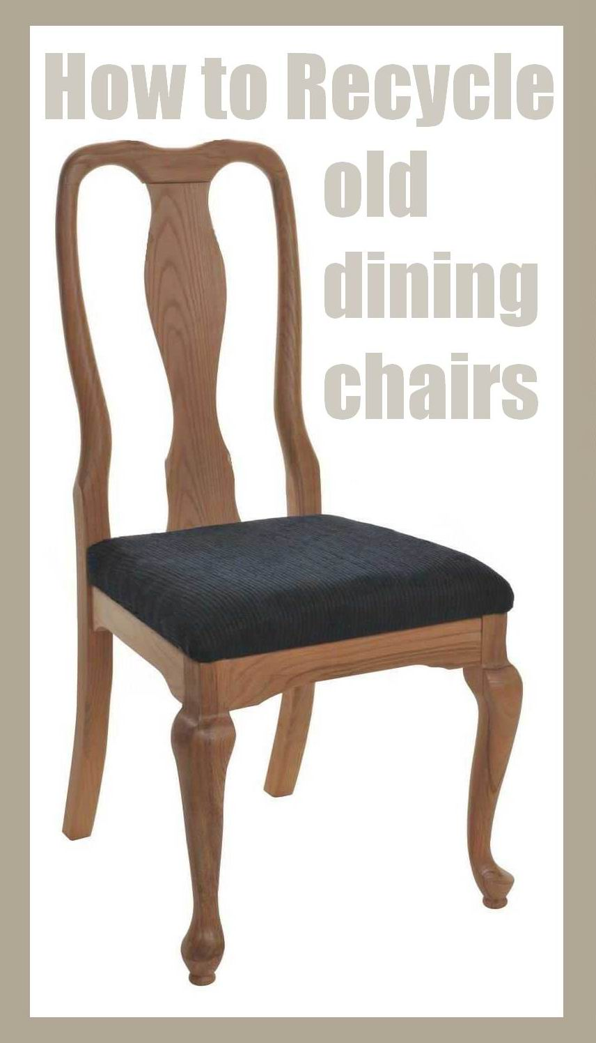 4 the love of wood: RECYCLED DINING CHAIR LEGS - shabby ...