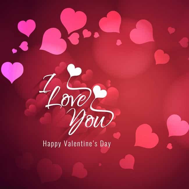 i love you my husband valentine message