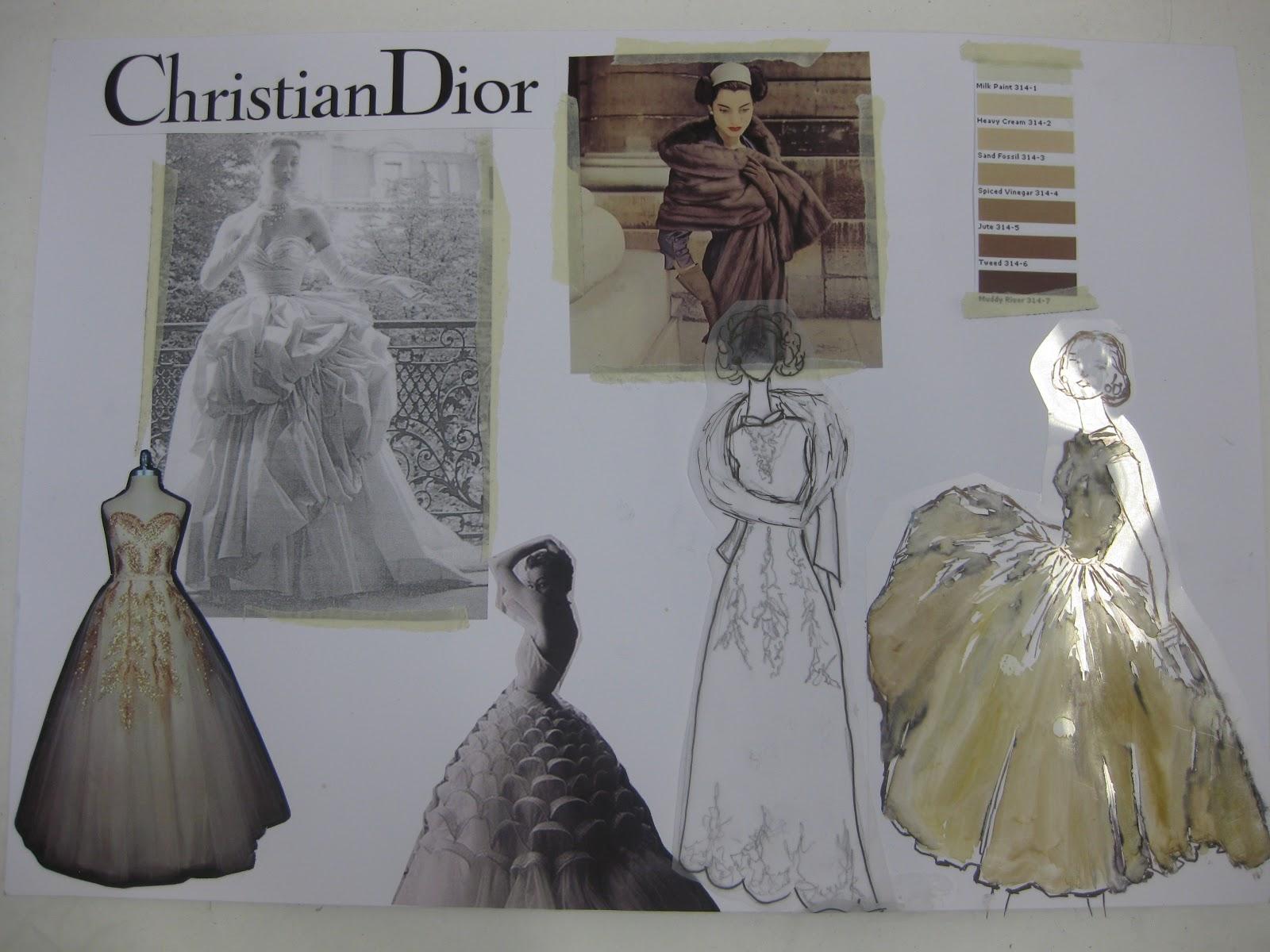 1950 S Fashion Decades Cop Theme Board Fashion Decades 1950 S Christian Dior