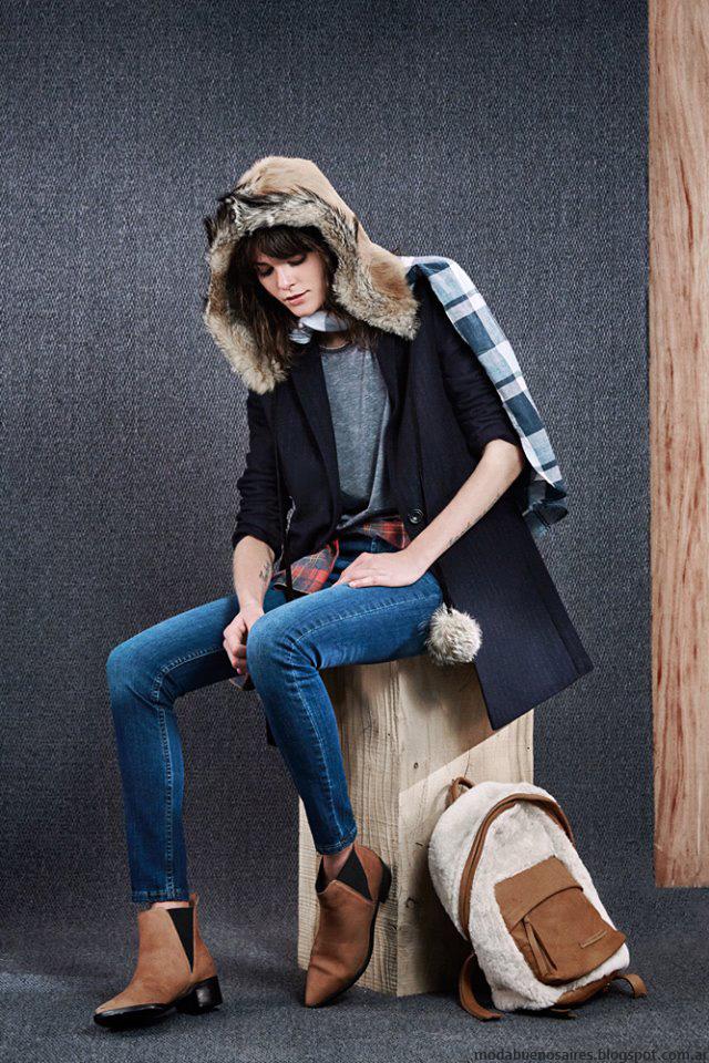 Sacos invierno 2016 ropa de moda mujer Paula Cahen D'Anvers. Moda 2016.