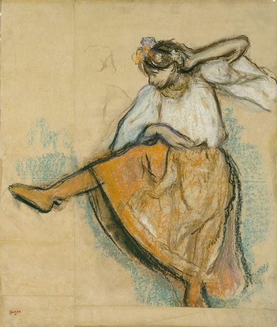 Эдгар Дега - Русская танцовщица (1895)