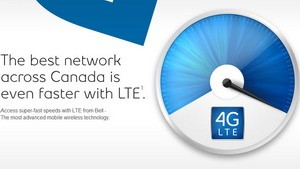 Bell launches 4G LTE network in Toronto, Mississauga, Hamilton, Kitchener-Waterloo and Guelph