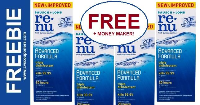 Free Renu CVS Coupon Deal 2-2-2-8