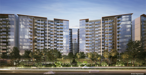 Affinity at Serangoon - Building Facade