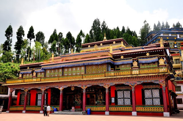 1524abaa9289 Rumtek is one of the most important Tibetan Buddhist Monasteries in North  East India.