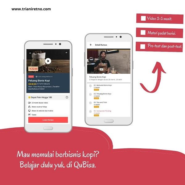Aplikasi siap kerja QuBisa