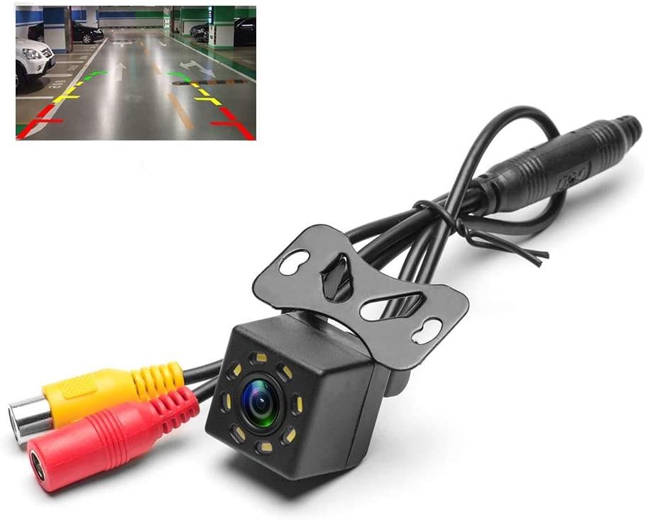 Hikity Backup 8IR Light Car Rear View Camera
