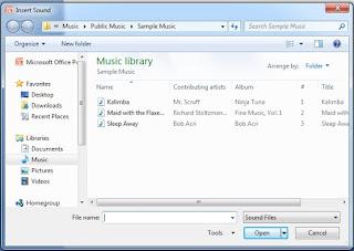 Power Point Slide में Audio और Vedio को कैसे insert करते है ?