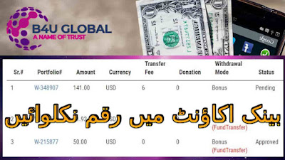 Withdraw money from B4U account to Bank, b4u withdraw money,b4u global, b4u global profit, b4u global reviews, b4u calculator, make money with b4u global, b4u global sign up, b4u global website,b4u global withdraw,tigerzplace,tigerzplace.com