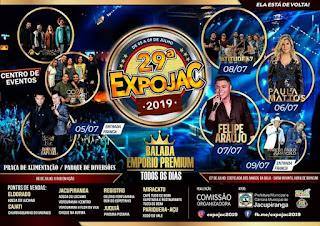 EXPOJAC  2019 PROMETE AGITAR JACUPIRANGA