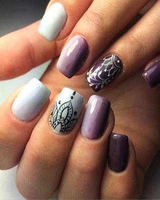 decoracion de uñas mandalas elegantes