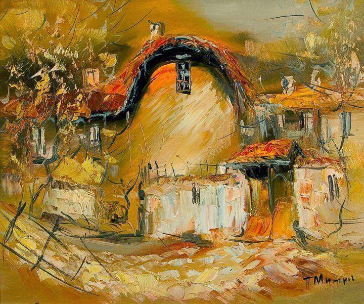 Pavel Mitkov  ~ Pintor Impressionista