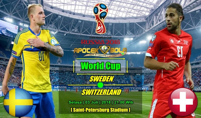 Prediksi Sweden vs Switzerland 3 Juli 2018