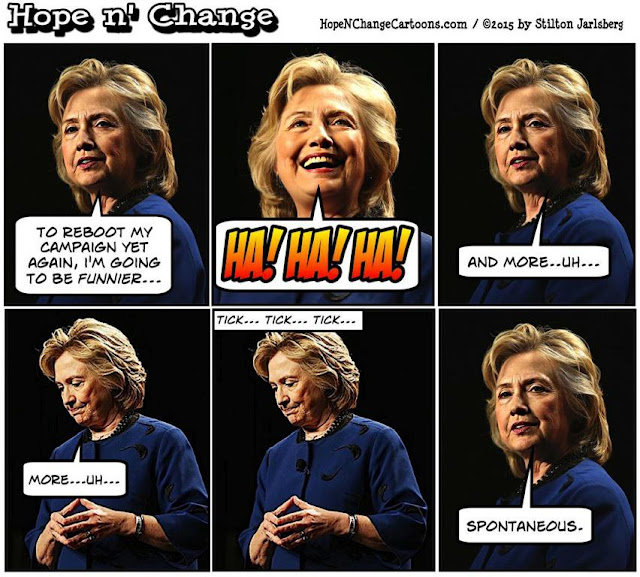 Image result for hillary the comedian cartoons