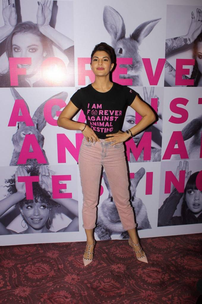 Jacqueline Fernandez At FAAT Campaign Stills