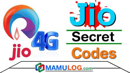 Jio phone Secret code